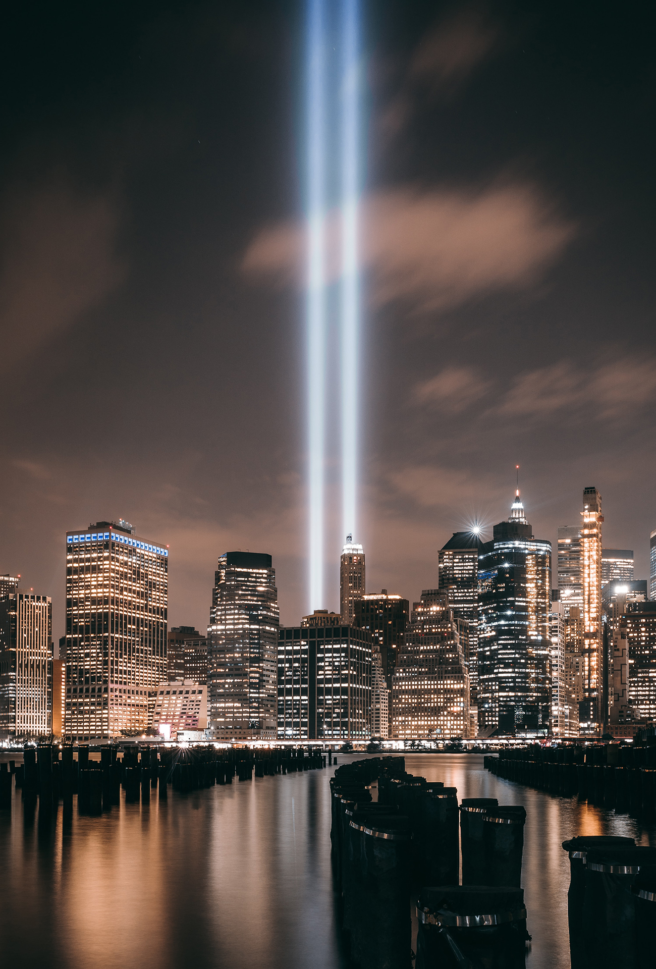 Tribute In Light, NY, USA.