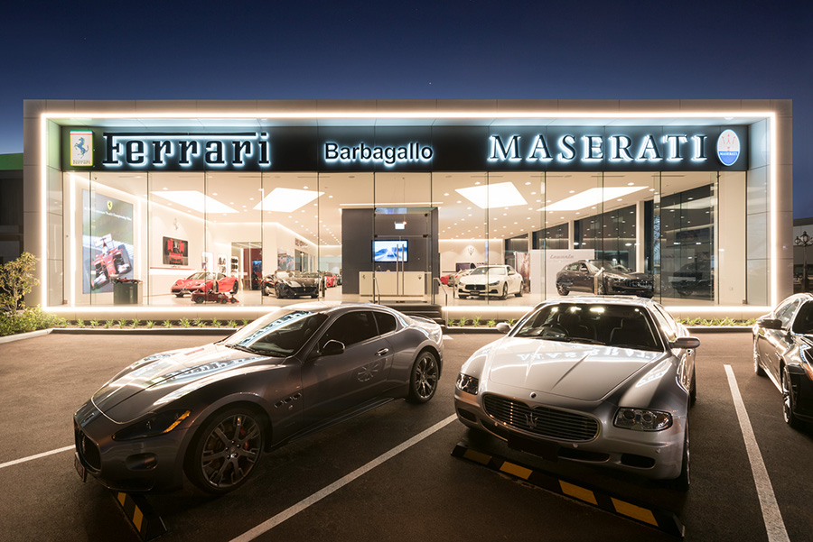 Ferrari & Maserati Showroom, WA