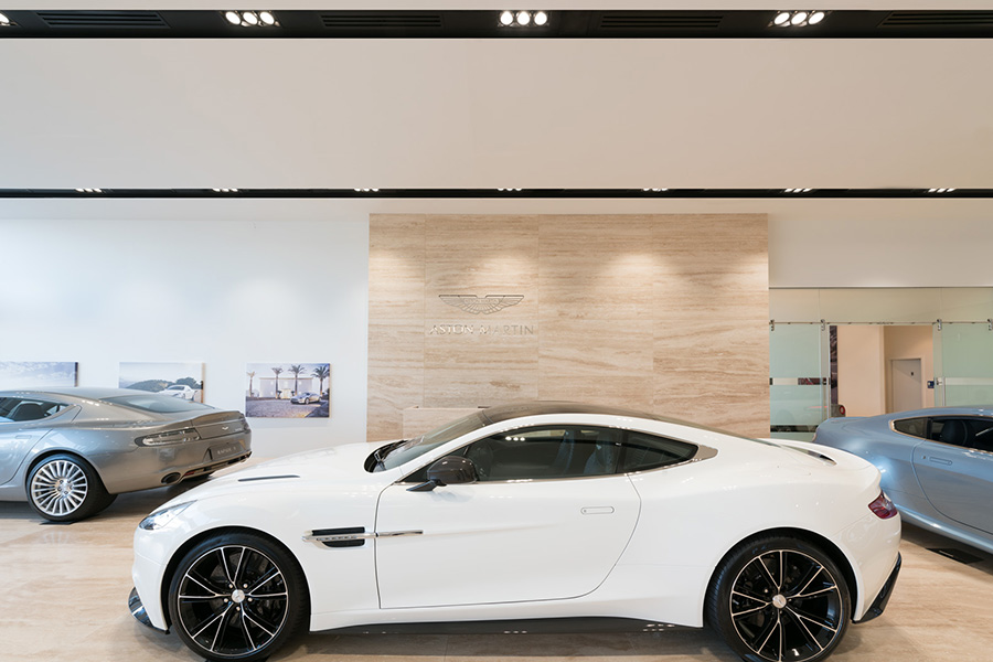 Aston Martin & Rolls Royce Showroom, WA