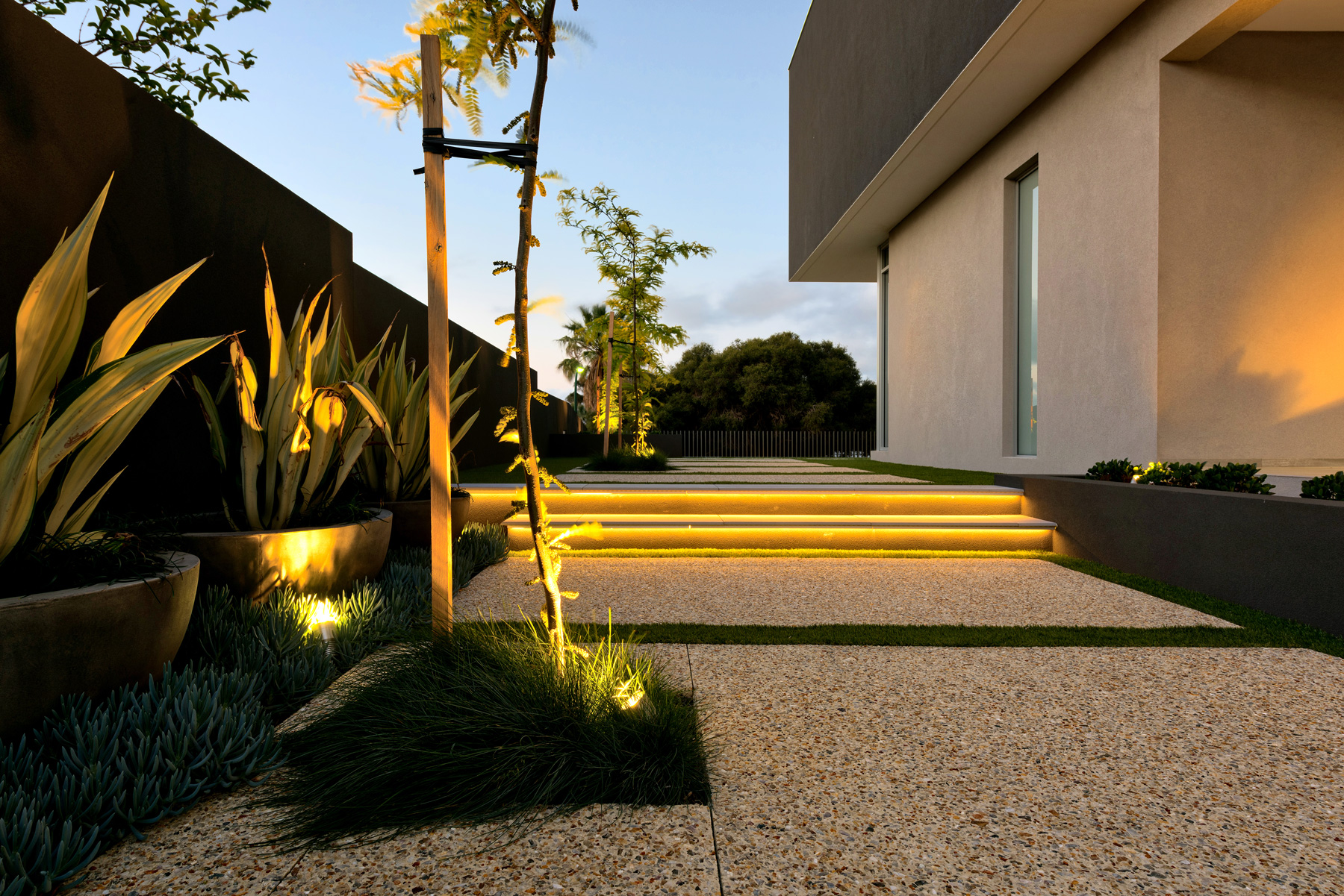 City Beach Residence | Lighting supplied by HS Reflections